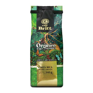 Cafe Britt Organic Ground Coffee 12oz Bag