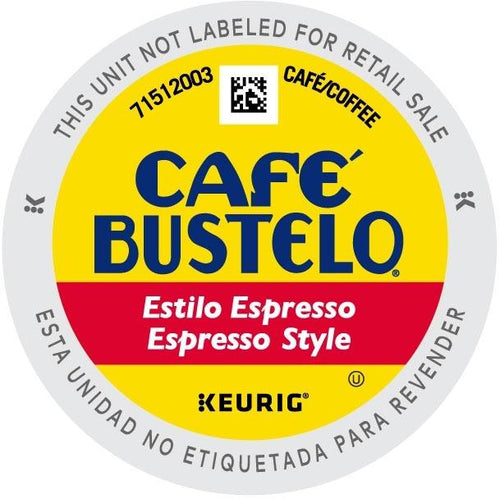 Cafe Bustelo Espresso K-cups 96ct