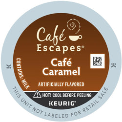 Café Escapes Café Caramel K-Cup Coffee 24ct