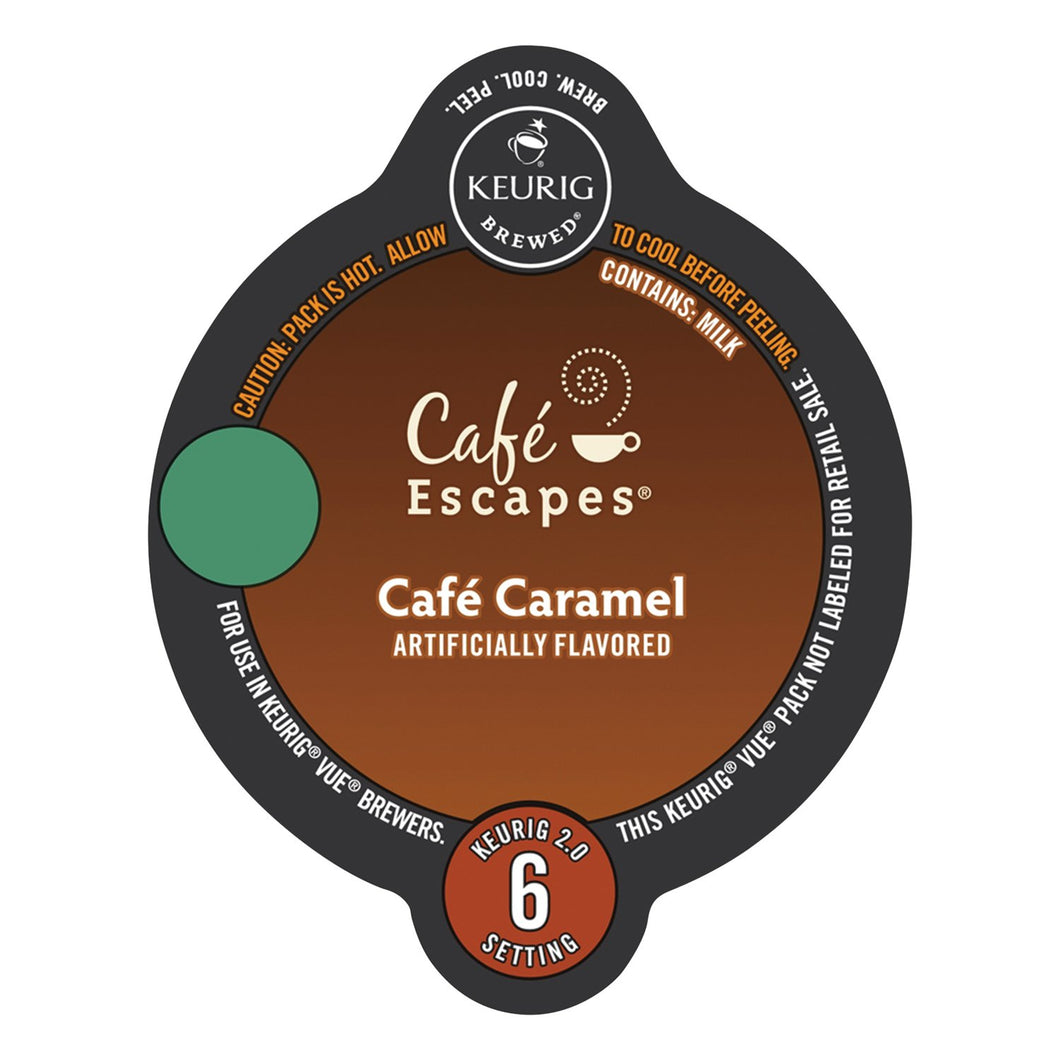 Café Escapes Café Caramel Vue Packs 16ct