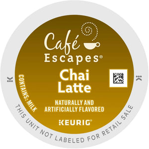 Café Escapes Chai Latte K-Cup Pods 96ct
