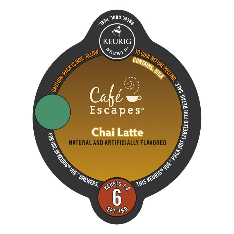 Café Escapes Chai Latte Vue Packs 16ct