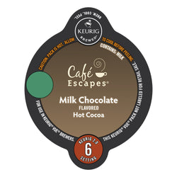 Café Escapes Milk Chocolate Hot Cocoa Vue Packs 16ct