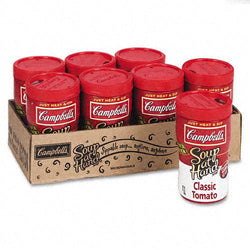 Campbell's Microwaveable Classic Tomato Soup-At-Hand 8ct Box