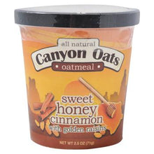 Canyon Oats Sweet Honey Cinnamon with Golden Raisins Instant Oatmeal To-Go