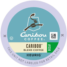Caribou Coffee Caribou Decaf Blend K-Cups 24ct