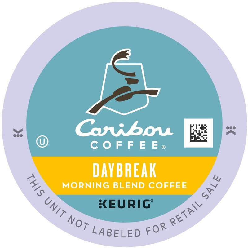 Caribou Coffee Daybreak Morning K-Cups 24ct Light