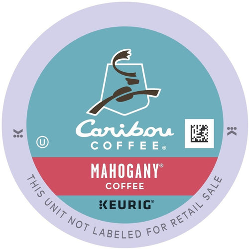 Caribou Coffee Mahogany K-Cups 24ct Dark