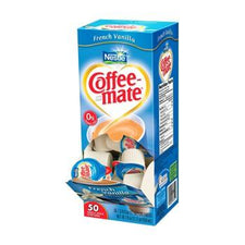 Coffee Mate French Vanilla Flavored Creamers 50ct
