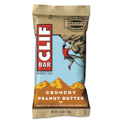 CLIF Bar Crunchy Peanut Butter Energy Bar 12ct