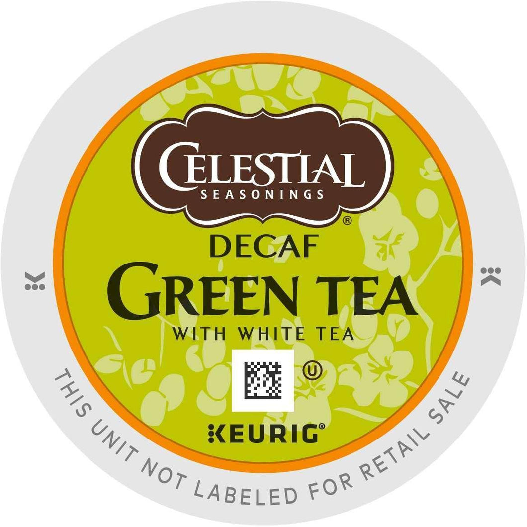 Celestial Seasonings Decaf Green Tea K-Cups 24ct