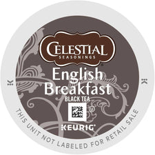 Celestial Seasonings English Breakfast Black Tea K-Cups 24ct