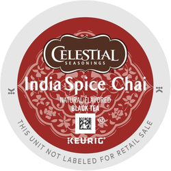 Celestial Seasonings India Spice Chai Tea K-Cups 24ct