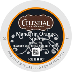 Celestial Seasonings Mandarin Orange Spice Herbal Tea K-Cups 24ct
