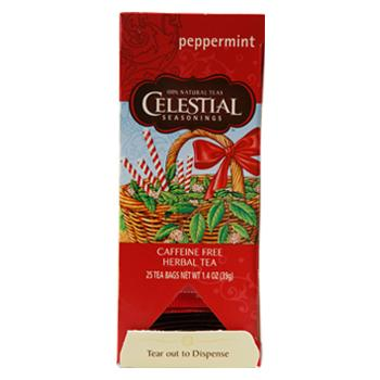 Celestial Seasonings Peppermint Caffeine Free Tea 25ct