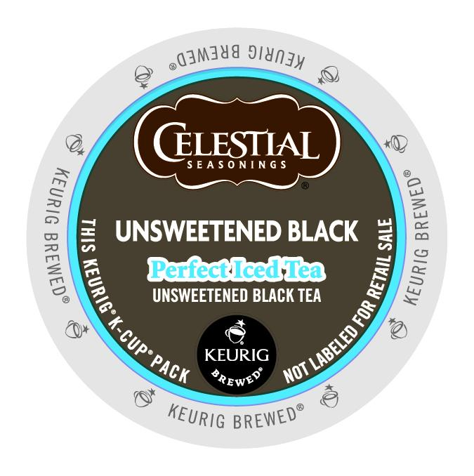 Celestial Seasonings Perfect Iced Tea Black Tea Unsweetened K-Cup® Pods 24ct