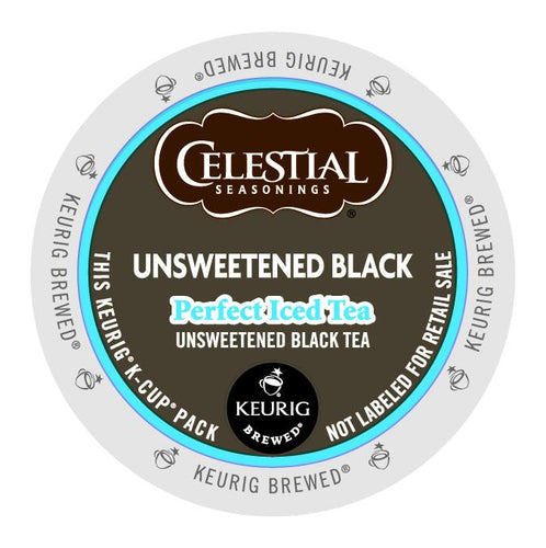 Celestial Seasonings Perfect Iced Tea Black Tea Unsweetened K-Cup® Pods 96ct