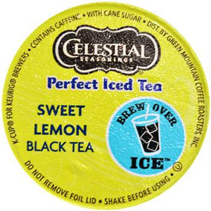 Celestial Seasonings Perfect Iced Tea Sweet Lemon Black Tea K-Cup® Pods 24ct