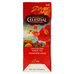 Celestial Seasonings Red Zinger Caffeine Free Tea 25ct
