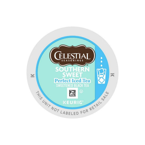 Celestial Seasonings Perfect Iced Tea Southern Sweet Black Tea K-Cups 22ct