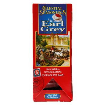 Celestial Seasonings Victorian Earl Grey Tea 25ct