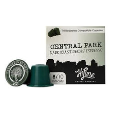 HiLine Coffee Central Park Decaf Nespresso Compatible Capsules 60ct
