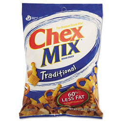Chex Mix Traditional Flavor Trail Mix 7 3.75oz Bags