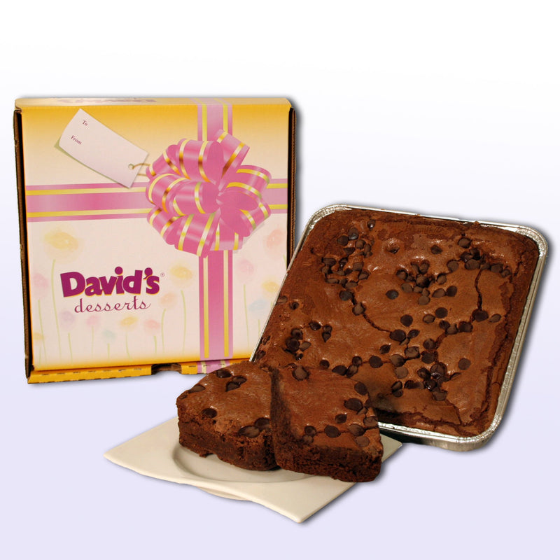 David's Cookies Chocolate Chip Brownie Dessert Tray