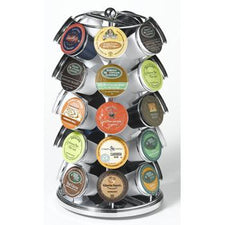Chrome 35 K-Cup Carousel K-Cup Holder