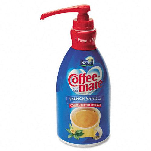 Coffee Mate Liquid French Vanilla Coffee Creamer 1.5 Liter Pump Dispenser