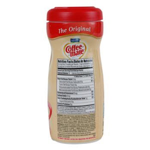 Coffee Mate Non-Dairy Powder Creamer 11oz Plastic Bottle Side