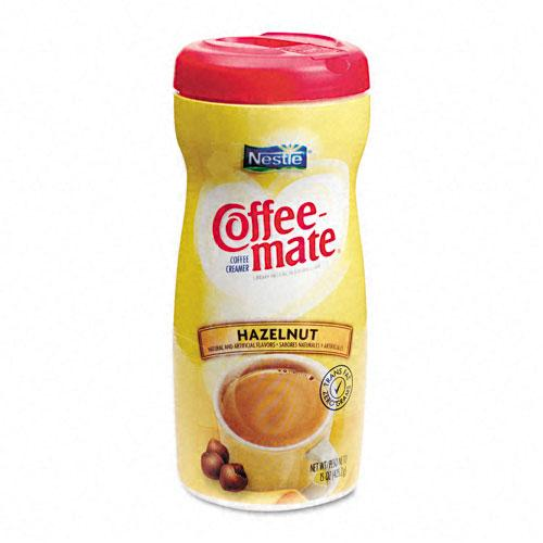 Coffee Mate Non-Dairy Powder Hazelnut Coffee Creamer 15oz Bottle