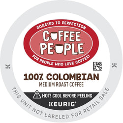 Coffee People 100% Colombian K-cup Pods 24ct