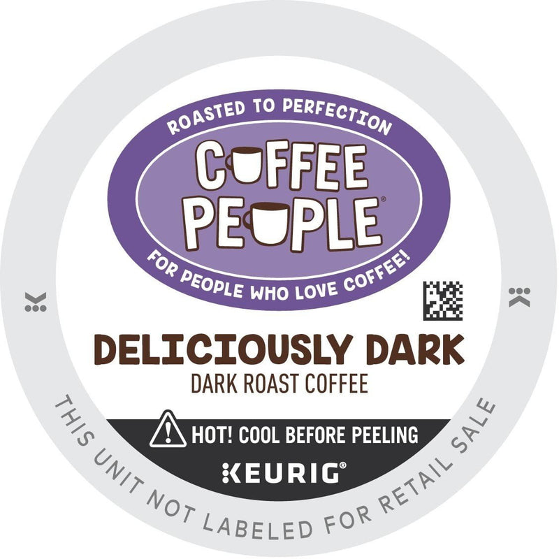 Coffee People Deliciously Dark K-cup Pods 96ct