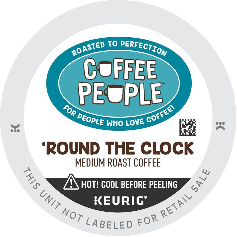 Coffee People Round The Clock K-cup Pods 96ct