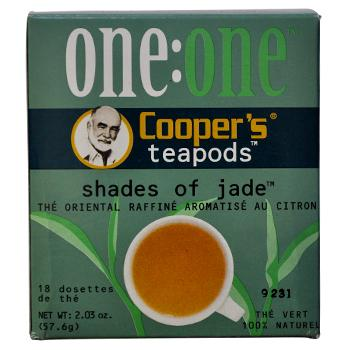 Coopers Teapods Shades Of Jade Coffee Pods 18ct Back