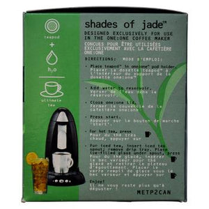 Coopers Teapods Shades Of Jade Coffee Pods 18ct Side Right