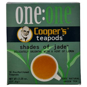 Coopers Teapods Shades Of Jade Coffee Pods 18ct