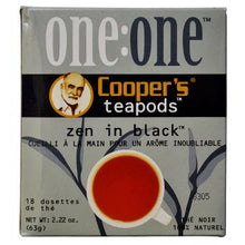 Coopers Teapods Zen In Black Coffee Pods 18ct