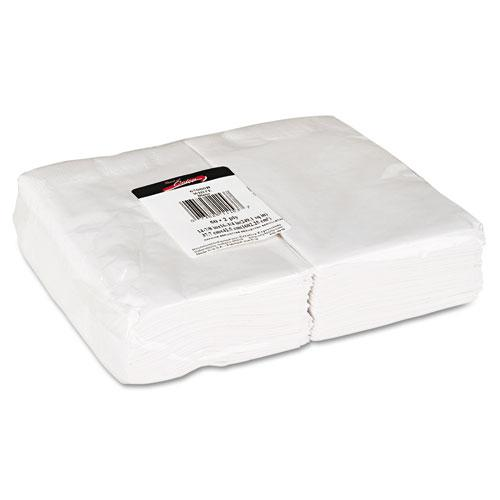 Creative Converting 16.75x16.75 Inch Two-Ply White Paper Napkins 600ct