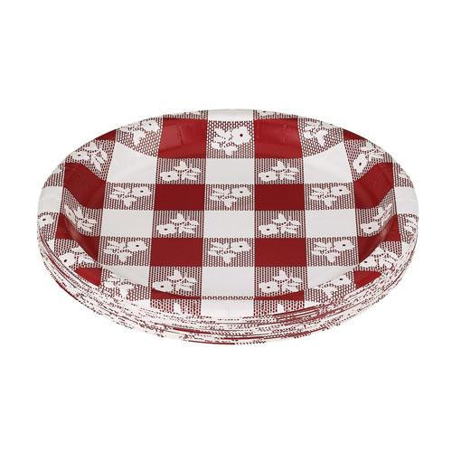 ... Creative Converting 7 Inch Red Gingham Paper Plates 12 25ct Packs  sc 1 st  CoffeeForLess & Creative Converting 7 Inch Red Gingham Paper Plates 12 25ct Packs ...
