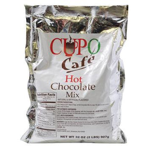 CUPO Café Hot Chocolate Mix 2LB Bag