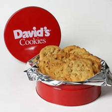 David's Cookies Assorted Fresh Baked 1lb Tin