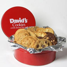 David's Cookies Assorted Fresh Baked 2lb Tin