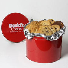 David's Cookies Assorted Fresh Baked 4lb Tin