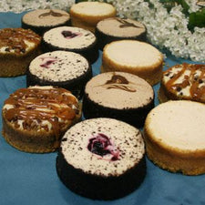 David's Cookies Assorted Mini Cheesecakes 12 pieces