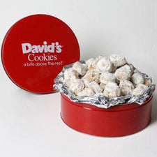 David's Cookies Butter Pecan Meltaways 40oz Tin
