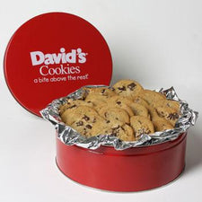 David's Cookies Chocolate Chunk 2lb Tin