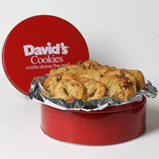 David's Cookies Coconut Pecan 2lb Tin