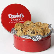 David's Cookies Macadamia Chocolate Chunk 2lb Tin